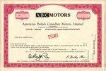 American-British-Canadian-Motors