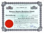 Hawaiian-Sumatra-Plantations-Limited-Hawaii-Territory