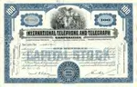 International-Telephone-Telegraph-Stock